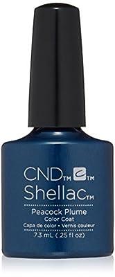 CND Shellac Nail Polish, Peacock Plume