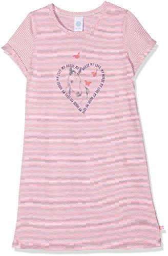 Sanetta Mädchen Nachthemd 232090, Rosa (Kiss 3834), 128 (Nachthemd Kurzarm Mädchen)