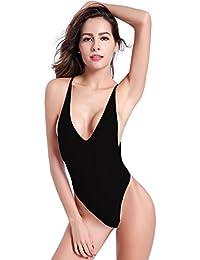 incontrare d4ccb d5f7f Amazon.it: costume nero intero - Mare e piscina / Donna ...