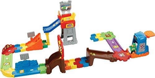 VTech Toet Toet Auto's Press & Go Stuntshow Niño/niña - Juegos educativos, Niño/niña, 1,5 año(s), 5 año(s), Holandés, De plástico