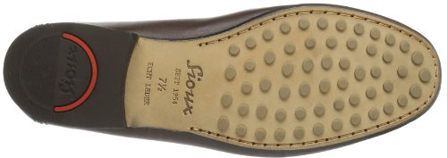 Sioux Edmundo, Mocassins homme Marron - Braun (marrone)