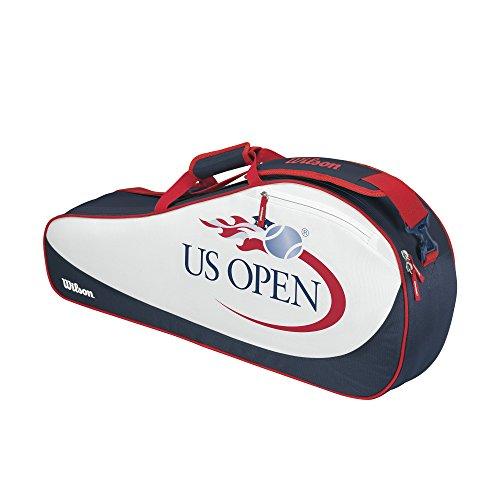 Wilson US Open Kollektion US Open Rot/Weiß/Blau, 3Stück