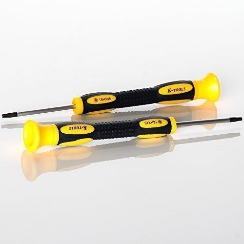 Preisvergleich Produktbild iTecXpress24 - Universal Torx 8 Schraubenzieher für Multimedia Geräte Werkzeug Sicherheitsaussparung für u.a. X-Box 360 Contoller PS3 Slim Mod | screwdriver wired wireless controller