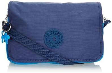 Kipling Sac bandoulière - Bleu - Blau (Mineral Blue SW), 23x16x5 cm (B x H x T)