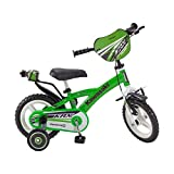 Pik&Roll Kawasaki Vélo Mixte Enfant, Vert, 12'