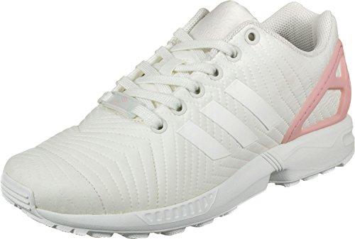 adidas Damen Zx Flux W Laufschuhe Mehrfarbig Off White/Trace Pink F17, 40 2/3 EU
