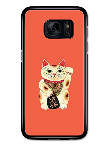 neko-money-cat-japanese-lucky-charm-illustration-custodia-per-samsung-galaxy-s7