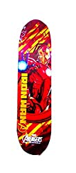 Iron Man Skateboard, Red/White (31-inch)