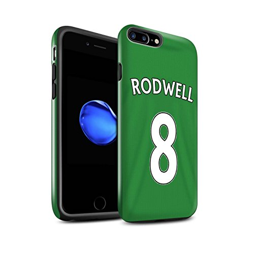 Offiziell Sunderland AFC Hülle / Glanz Harten Stoßfest Case für Apple iPhone 7 Plus / Fußballer Muster / SAFC Trikot Away 15/16 Kollektion Rodwell