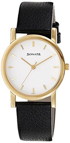 41xOQzLMf3L - Sonata Mens N7987YL02 watch