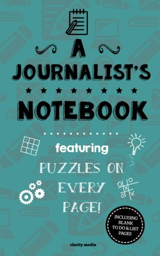 A Journalist's Notebook: Featuring 100 puzzles