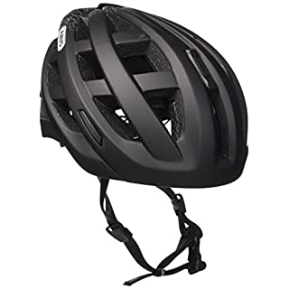 Abus Erwachsene Fahrradhelm In-Vizz Ascent, velvet black, 13376-3,57-63cm