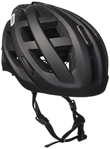 Abus Erwachsene Fahrradhelm In-Vizz Ascent, velvet black, 13376-3,57-63cm Ascent