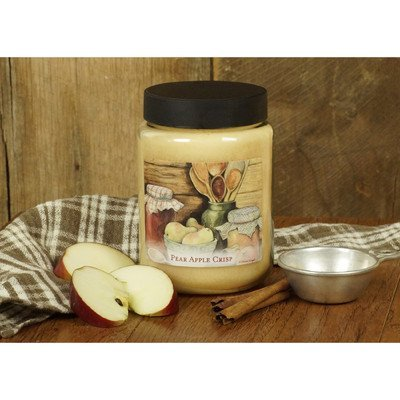 Lang 3100006 Perfect Timing Jar Candle by Susan Winget, 26-Ounce, Pear Apple Crisp by Lang