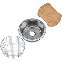 Lavelli da cucina fai da te vasca singola lavello a una vasca e mezzo vasca - Lavello cucina rotondo ...