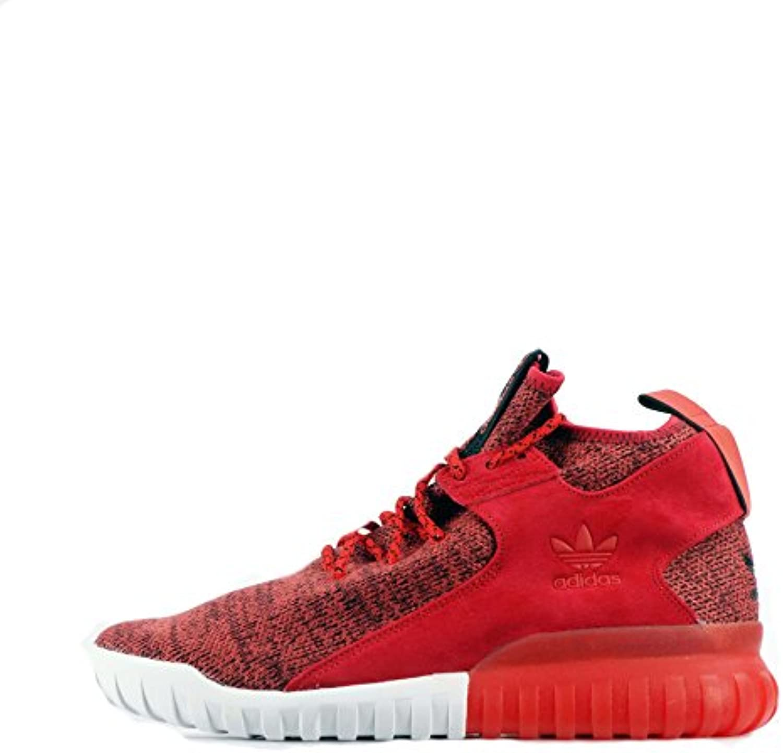 adidas Originals  Adidas Originals Tubular X Primeknit  Herren Sneaker rot Red/Red/Red 44 EU