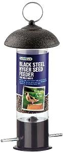 Gardman Steel Nyger Seed Feeder - Black