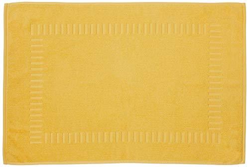 Lasa Home Alfombra de baño, algodón, Amarillo, 50x 70x 1cm