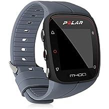 kwmobile Armband für Polar M400/M430 - Silikon Sport Ersatzarmband mit Verschluss Ohne Fitness Tracker Innenmaße: ca. 16-24 cm