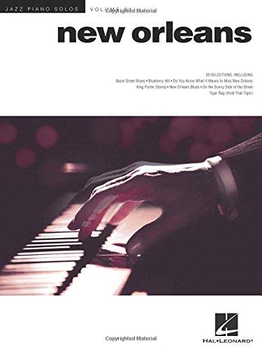 Jazz Piano Solos Volume 21: New Orleans (Hal Leonard)