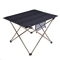 OUTAD Mesa Plegable Portátil para Acampada/Camping Ultra Ligera y Resistente
