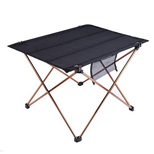 OUTAD tragbare Klapptisch Campingtisch Camping Ausflüge im Freienpicknick-Oxford-Gewebe Tisch