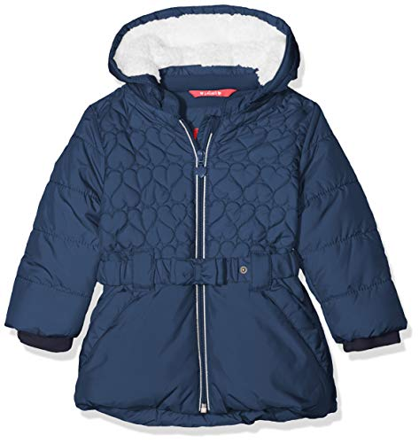s.Oliver RED LABEL Unisex - Baby Wintermantel mit Schleifengürtel navy 92