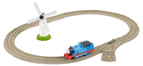 Fisher-Price Mattel BGX97 Thomas und seine Freunde Starterset Windmühle (Motorisierte Thomas Eisenbahn)