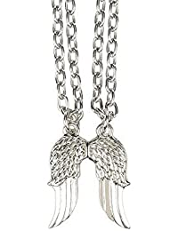 The Walking Dead Daryl Angel Wings 2 Pack Best Friends Necklace Set Set by AMC The
