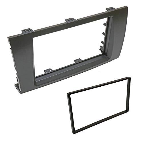 Autoleads FP-01-11 Fiat 500 08/> Car Stereo Black Single Din Fascia Panel Black