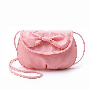 Heart&M Damen PU Polyester Alltag Im Freien Umhängetasche Ganzjährig blushing pink