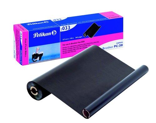 Pelikan 2033 – Rodillo de transferencia para impresoras (420 páginas, Negro, Transferencia térmica) (importado)