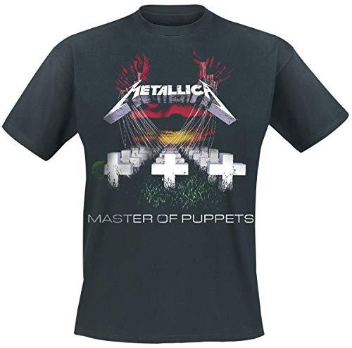 Metallica Master Of Puppets Camiseta Negro XL