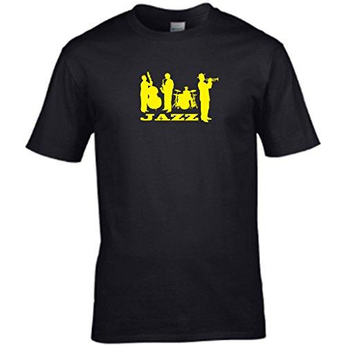 S TeesHerren T-Shirt Schwarz - Schwarz
