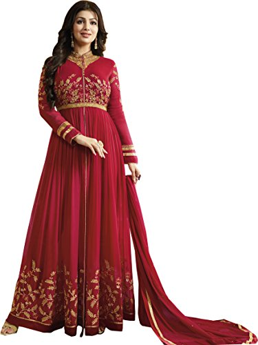 Ethnic Yard Latest Faux Georgette Party Wear Anarkali Salwar Kameez