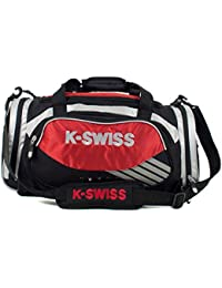 K-Swiss Medium Training Bolsa, Rojo / Negro, Talla Única