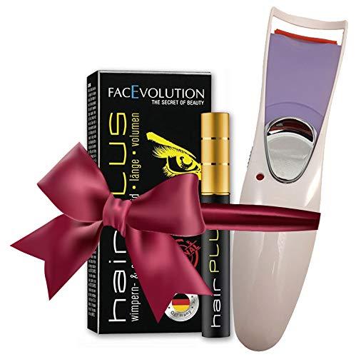 Facevolution Hairplus Wimpern-Wachstumsfluid 4,5 ml SET + Facevolution Elektrische Wimpernzange GRATIS