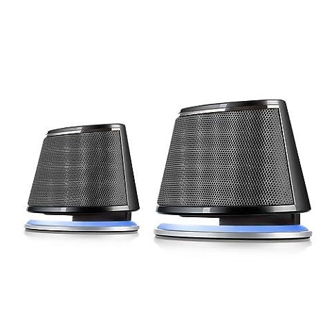 Satechi Dual Sonic Speaker 2.0 Enceintes Haut-parleurs d'ordinateurs pour Apple