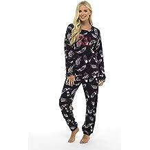 miglior servizio 52116 314e7 Amazon.it: pigiama donna invernale - Nero