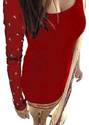 Shyam Export Women's Latest Design Pure Velvet Party Wear Salwar Suit Set...