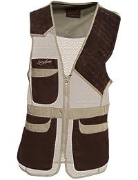 Benisport - Chaleco de tiro red zurdo talla m, color marrón-arena