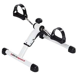Ultrasport MPE25 Mini-Vélo d'appartement pliant pour l'entraînement des bras et des jambes