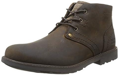 CAT Footwear Men's Carsen Mid Tan Chukka Boots P714209 6 UK, 40 EU