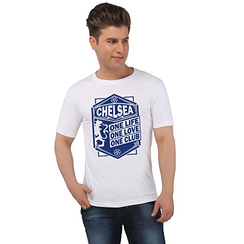 EETEE Football Chelsea One Love White T-shirt  available at amazon for Rs.399