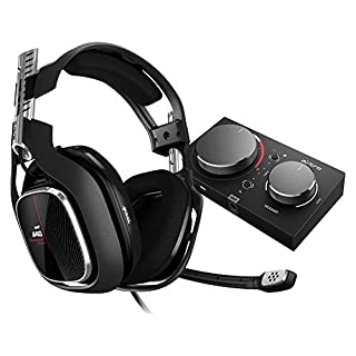 ASTRO Gaming A40 TR, kabelgebundenes PC-Headset + MixAmp Pro TR Gen 4 Adapter (mit Dolby Audio, kompatibel mit Xbox One, PC, Mac) weiß