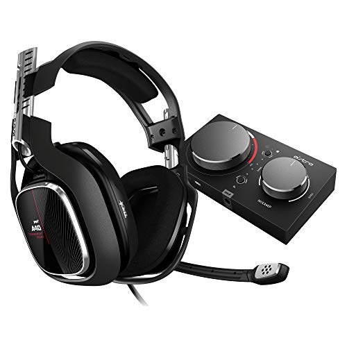 ASTRO Gaming A40 TR e Mixamp PRO TR Cuffia per PC Cablata di Quarta Generazione con Audio Spaziale Dolby Audio Compatibile con Xbox One/PC/Mac