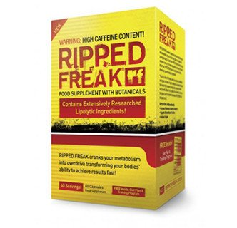 RIPPED FREAK - 60CT - USA - Hybrid Fat Burner (60 Hybrid)
