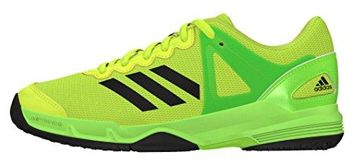 adidas Jungen Court Stabil J Handballschuhe, Amarillo (Amasol / Negbas / Versol), 36 2/3 EU