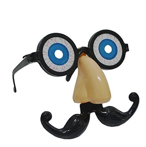 Altsommer Fuzzy Nose and Glasses Klassische Party Bevorzugungs Brille mit Lustiger Nase
