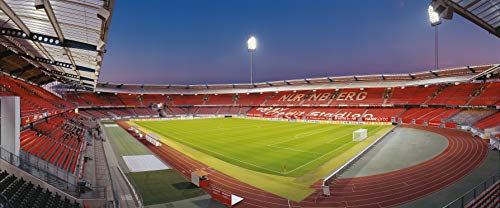Nürnberg Stadion Panorama - Poster 120 x 50 cm - hochwertiger FineArtPrint